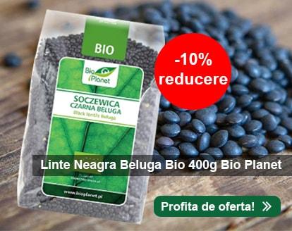 Linte Neagra Beluga Bio 400g Bio Planet